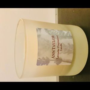 New Ann Taylor Lavender Fragrance Candle in Jar